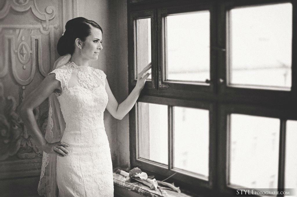 Beispiel: Portrait der Braut, Foto: Stylefotografie.