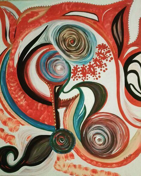 Marisa Di Mitri pittrice di eventi