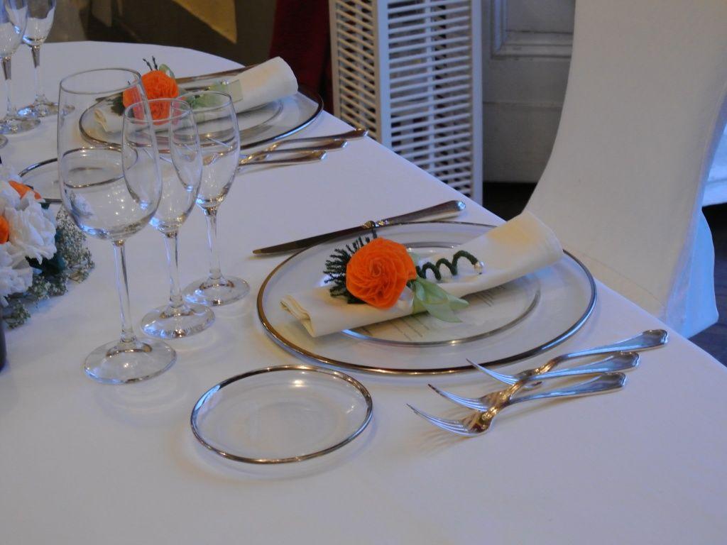 Matrimonio a Firenze - Segnaposto con fiore di carta