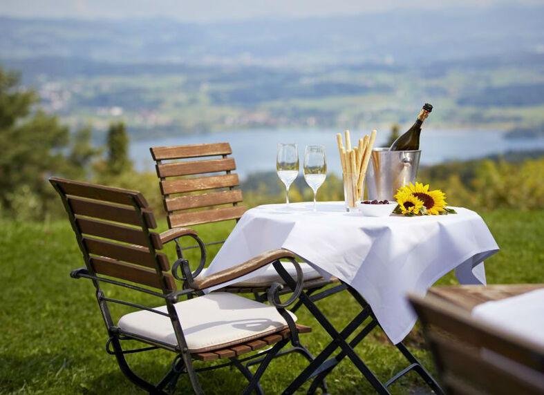 Beispiel: Alpensicht, Foto: Hotel Landgasthof Wassberg.