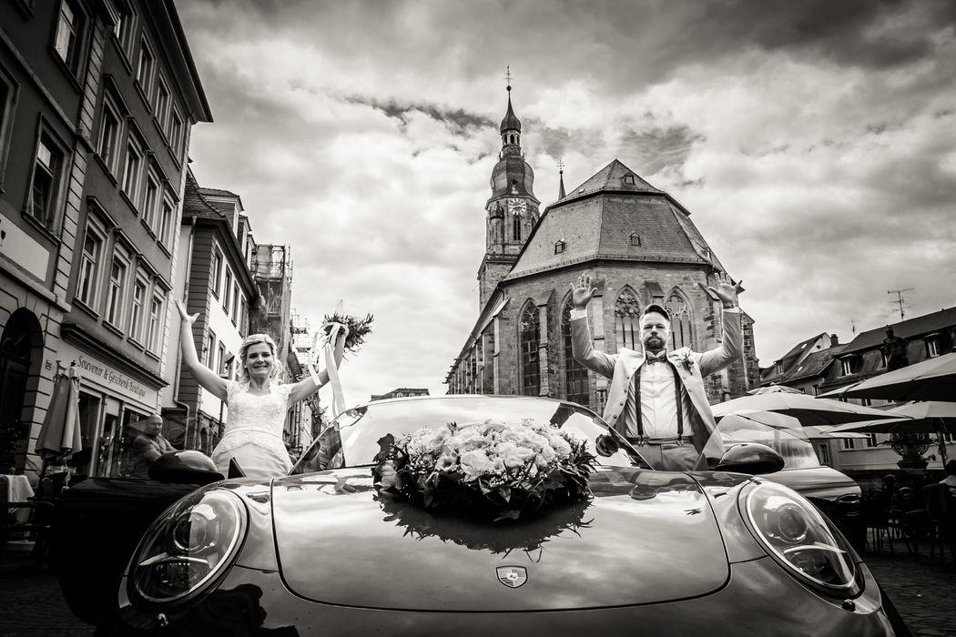 Standesamtliche Trauung in Heidelberg Foto: Christian Stumpf