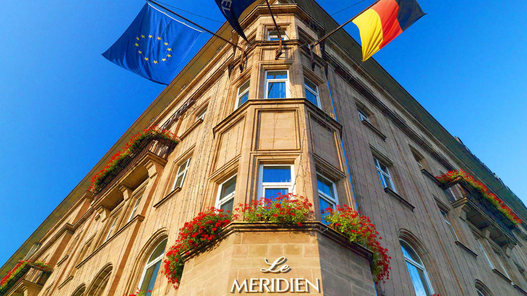 Beispiel: Le Méridien Gran Hotel Nürnberg - Außenansicht, Foto: Le Méridien Gran Hotel Nürnberg.