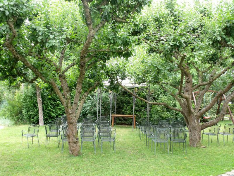Beispiel: Impression Garten, Foto: Alte Straßenmeisterei.