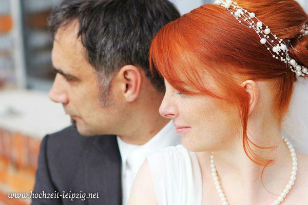 Beispiel: Portraits vom Brautpaar, Foto: Hochzeits- & Eventfotografie Tilo Kemnitz.