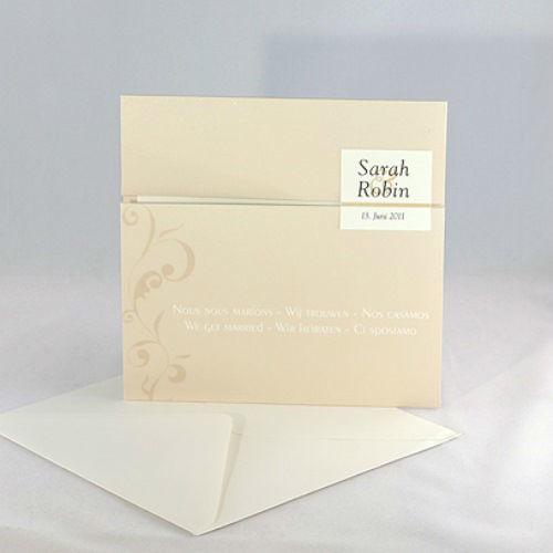 Beispiel: Wunderschöne Hochzeitseinladungen, Foto: Karten und mehr.
