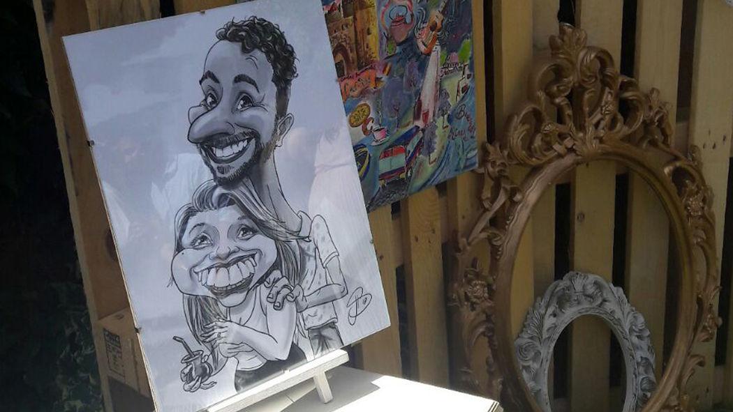 João Serrano Art - Caricaturas e Ilustração