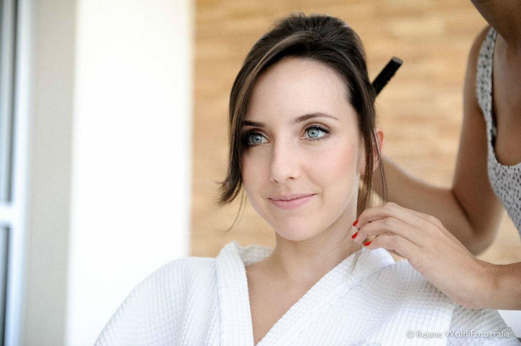 Andrea Alencar Make Up & Hair. Foto: Rejane Wolff