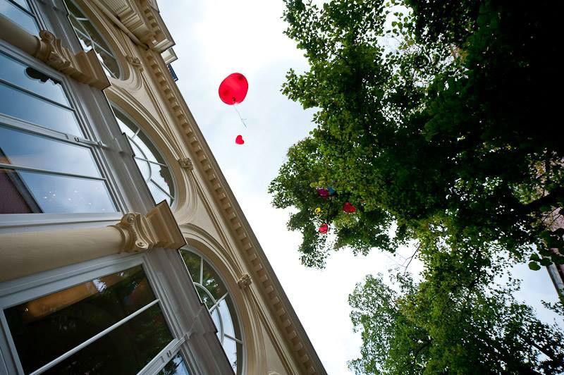 Beispiel: Hochzeitsballons, Foto: Kursalon Mödling.