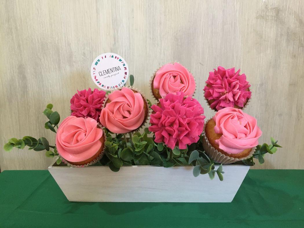 Romantic ¨Arreglos de Cupcakes¨