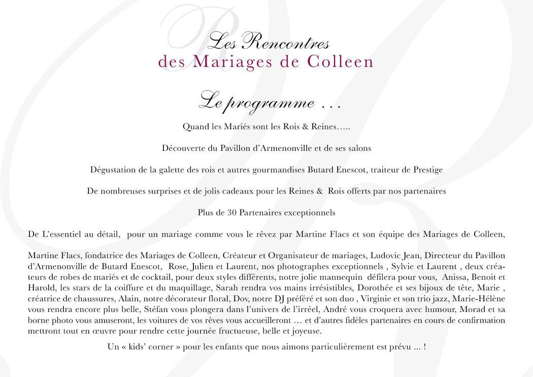 Les rencontres des Mariages de colleen 2016