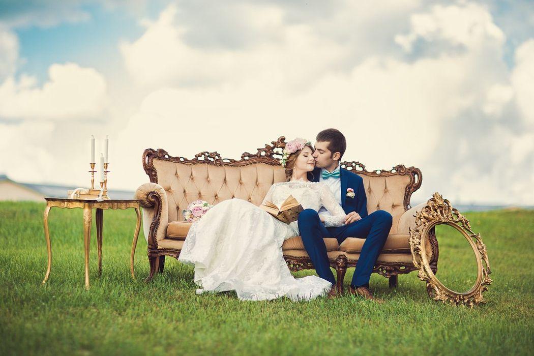 Фотосессия перед свадьбой.
