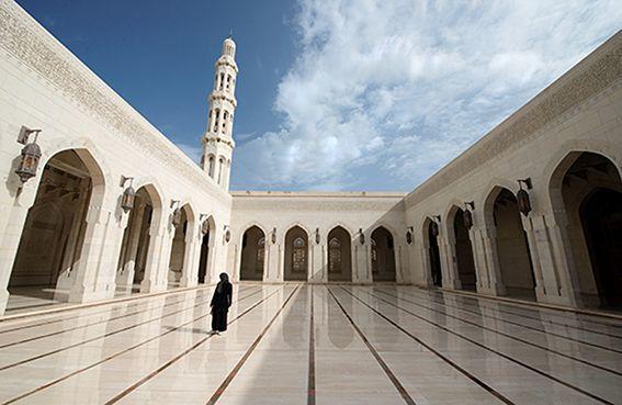OMAN - Grande moschea