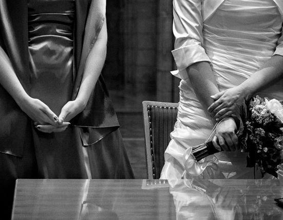 Beispiel: Standesamtliche Hochzeiten, Foto: JaSager Berlin.