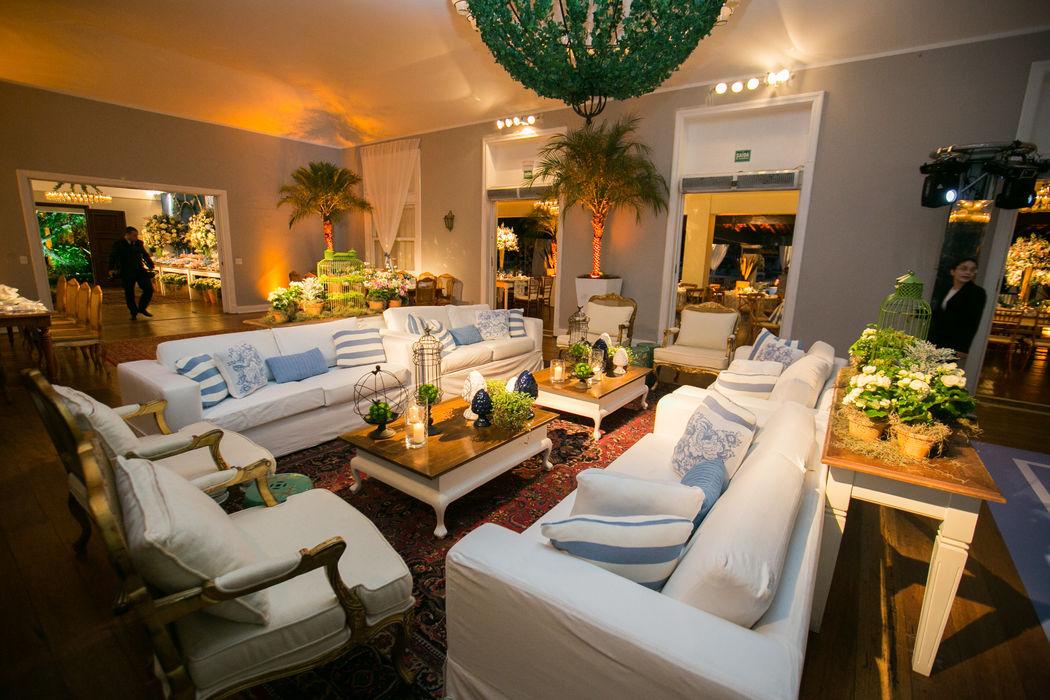 Lounge Salão Nobre - Sociedade Hipica Brasileira