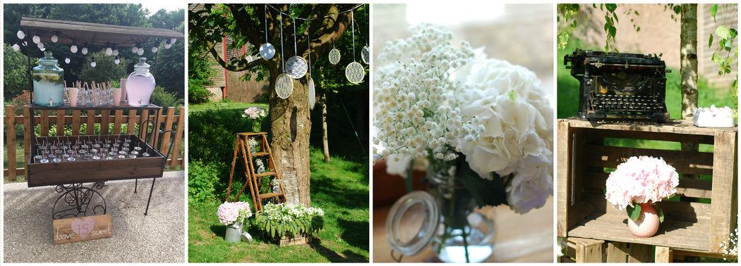 Ma Sweet Table  Location de décoration pour mariage Vintage,  Bohème- & tendance  Herault et Gard Location de décoration vintage Bohème- & tendance