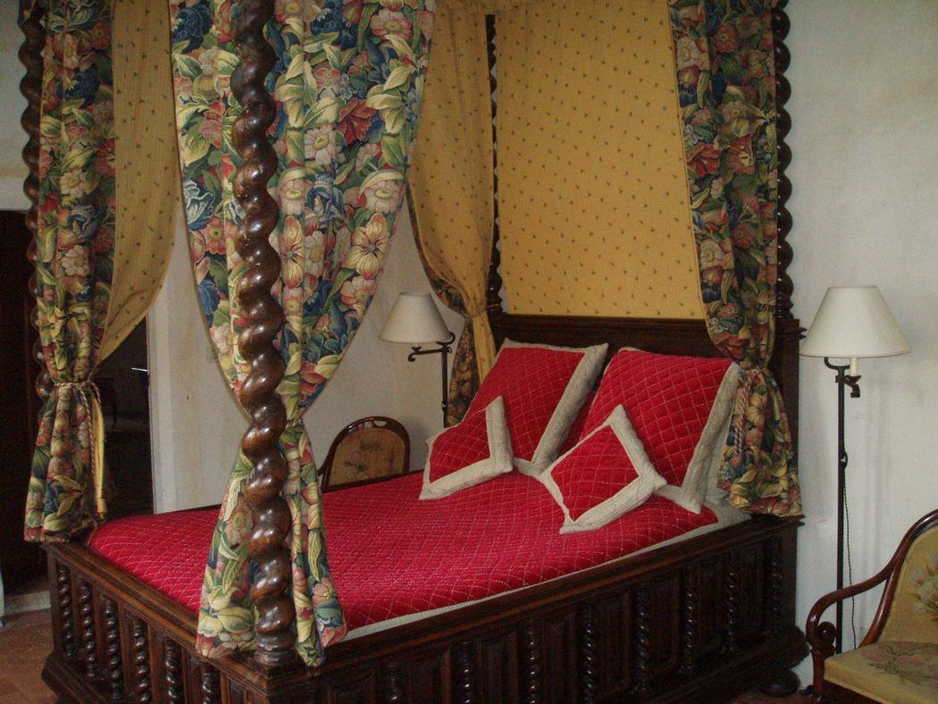 Chambre Gothique dans le Donjon