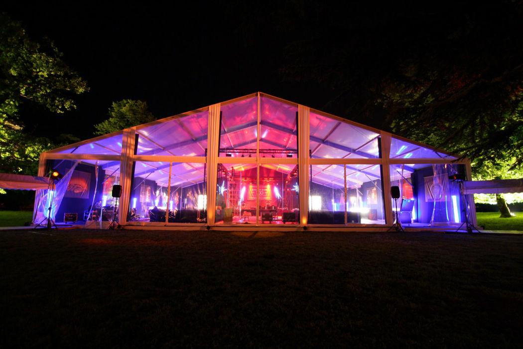 Structure Cristal (nuit)