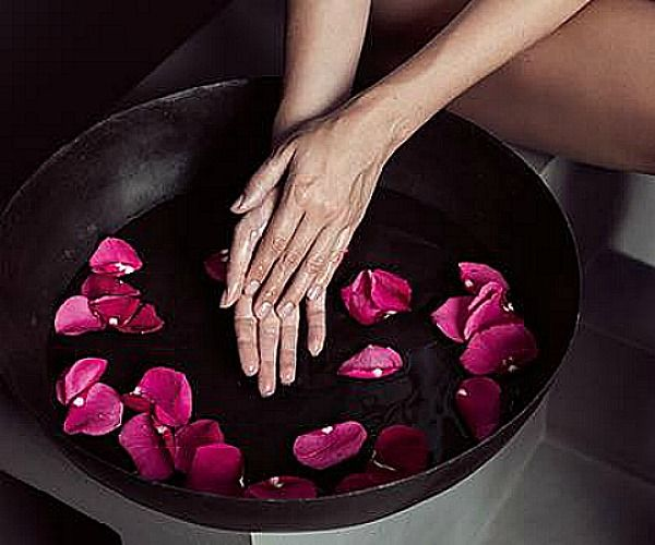Beispiel: Wellness - Maniküre, Foto: Kosmetik Andrea Garburg.