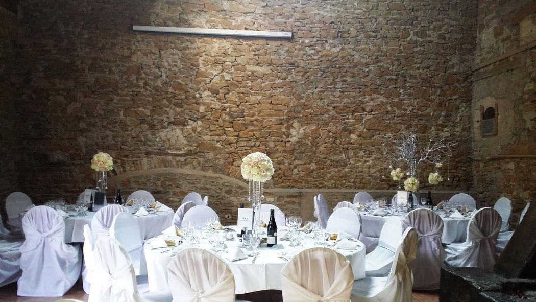 Création florale pour mariage classique et élégant