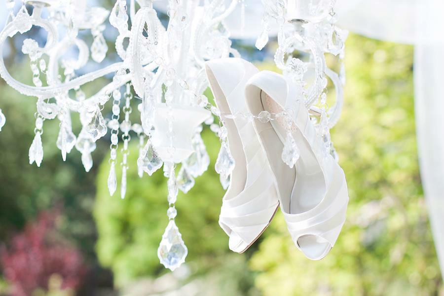 Beispiel: Schuhe für Ihren großen Tag, Foto: Paradox London.
