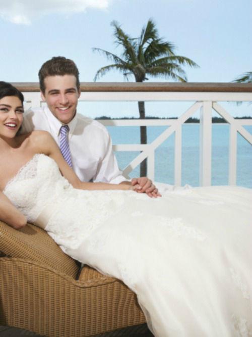 Beispiel: Brautpaar, Foto: Modehaus Brautsalon Hufnagl.