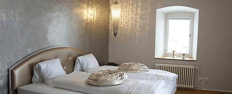 Beispiel: Hotelzimmer, Foto: Schloss Wartensee.