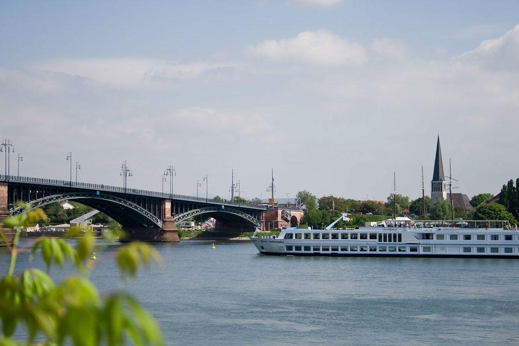 Beispiel: Blick über den Rhein, Foto: Brueckenkopf.