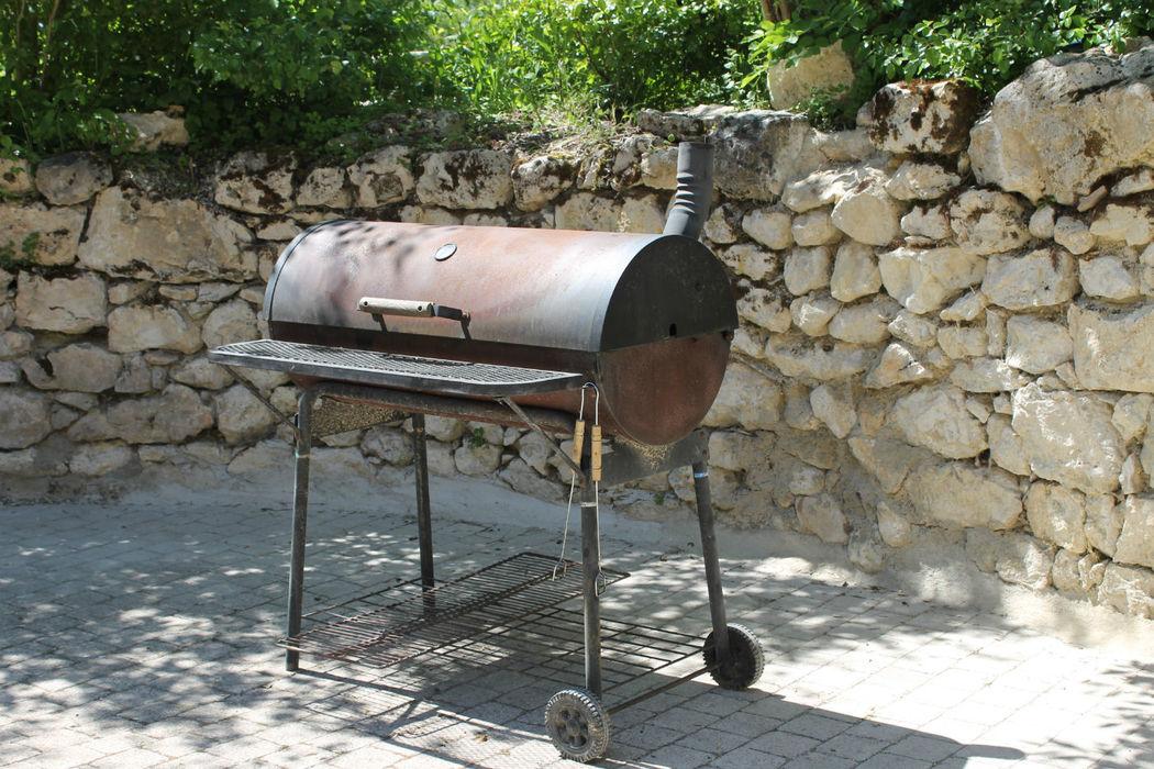 Le barbecue géant (offert pour le brunch)
