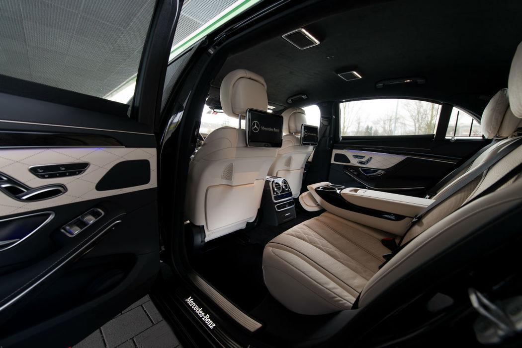 Beispiel: Mercedes S500 L, Foto: Munich-Drivers.