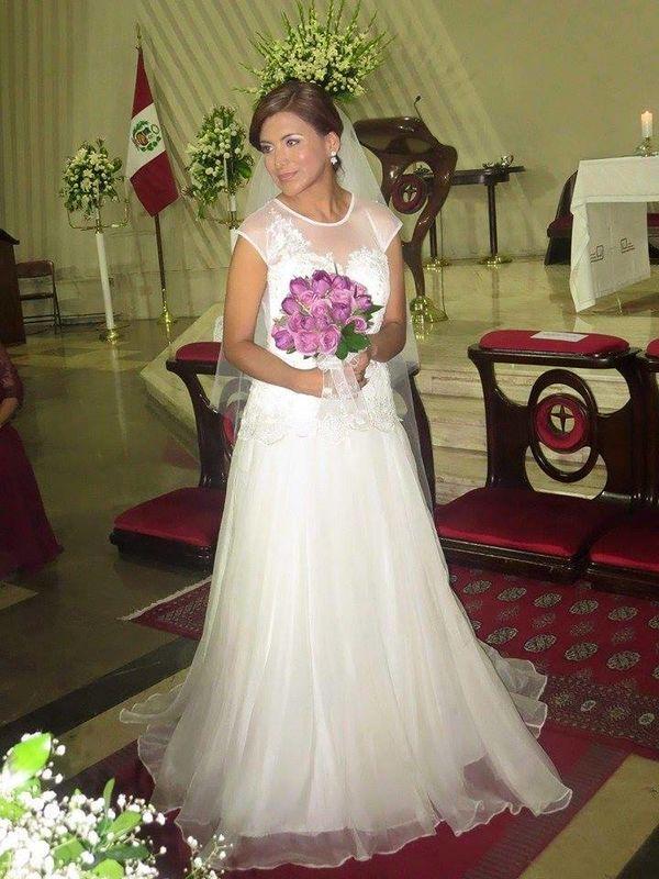 Novia Anghela Cotillo Gallardo.