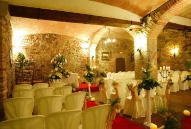 Ceremonia en el interior de la Masía