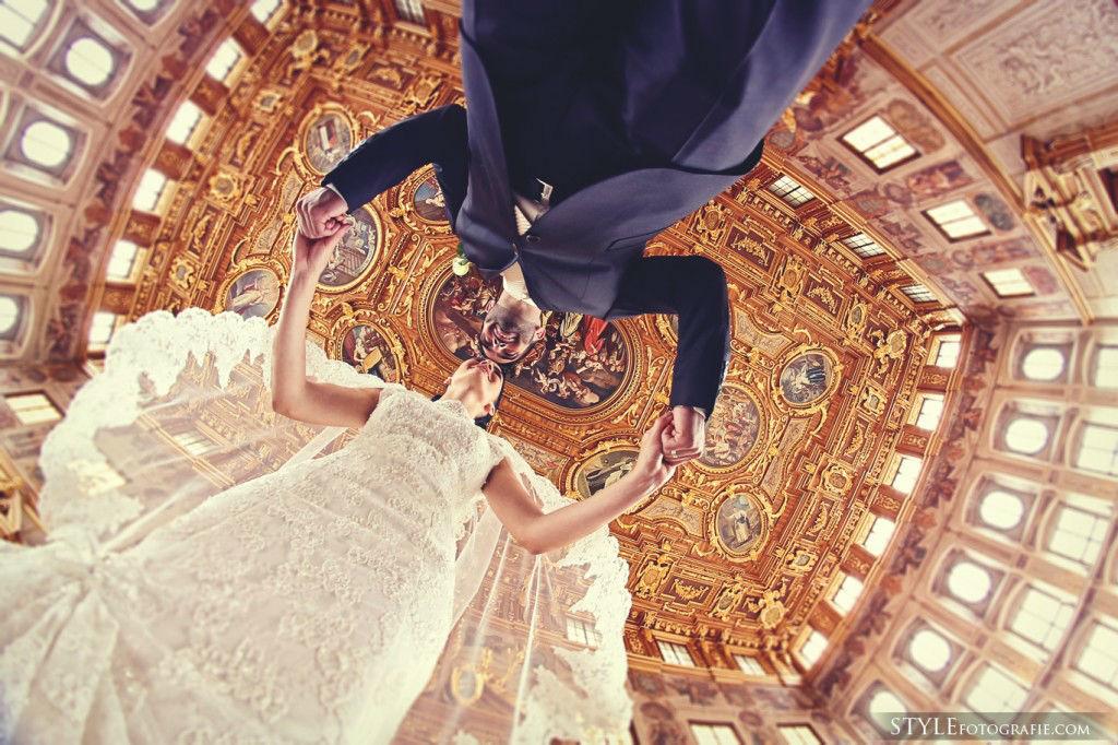 Beispiel: Kreative Hochzeitsfotografie, Foto: Stylefotografie.