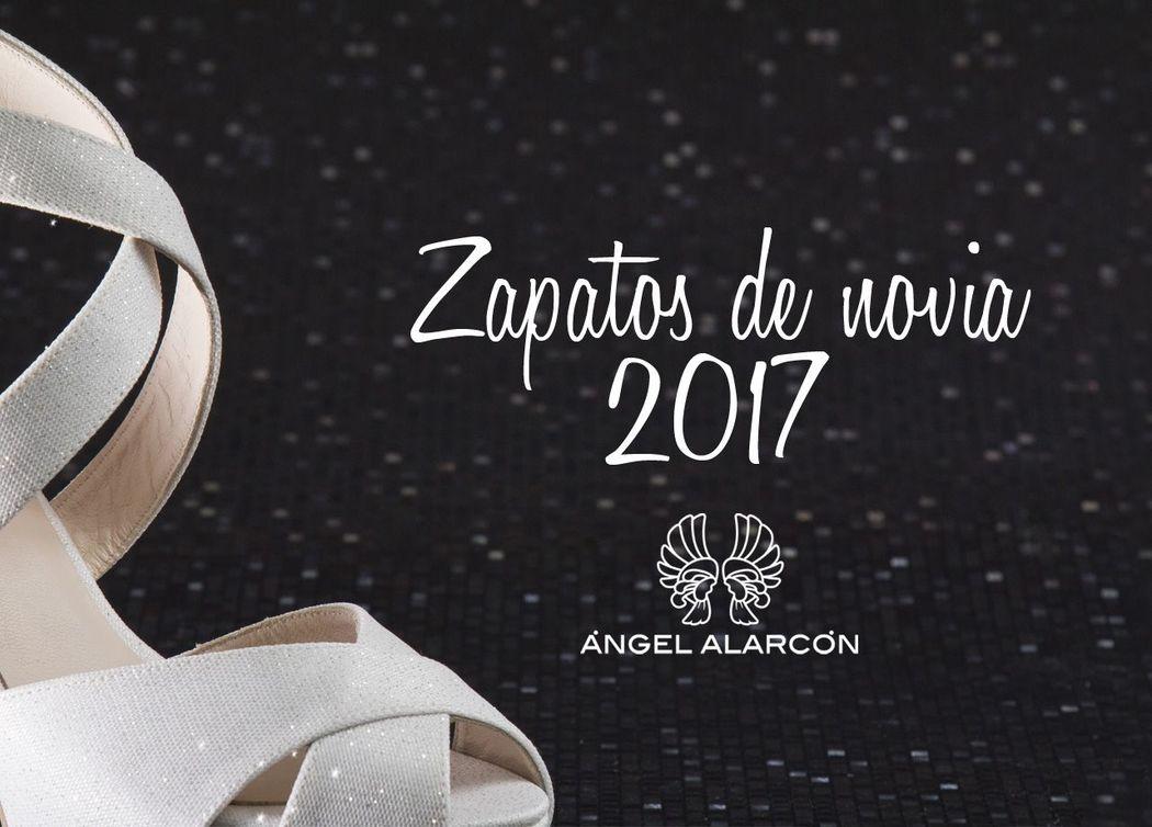 Zapatos de novia 2017 de la marca Ángel Alarcón. Zapatos hechos en España. Made in Spain