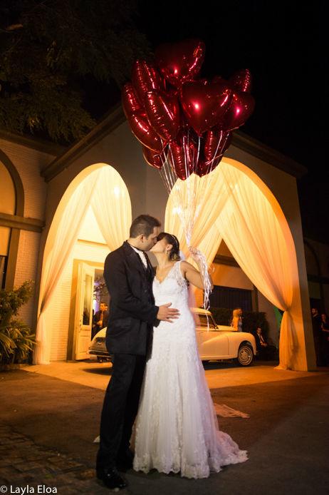 os noivos Foto: Layla Eloa