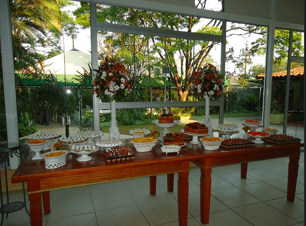 Buffet Café Tropical