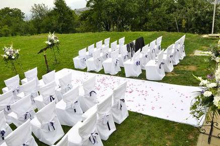 Beispiel: Professionelles Catering für Ihre Hochzeit, Foto: Königskraut Catering.