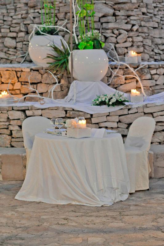 Eventi & Stile: tavolo sposi