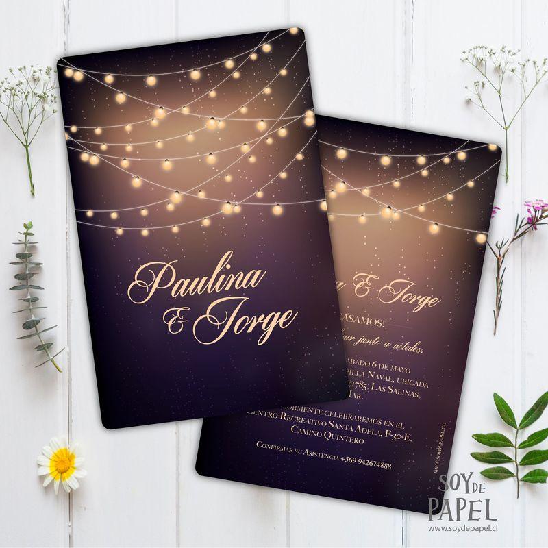 Invitación Luz