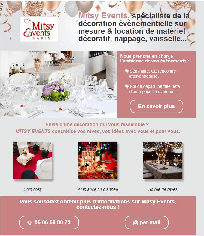 Mitsy Events Paris
