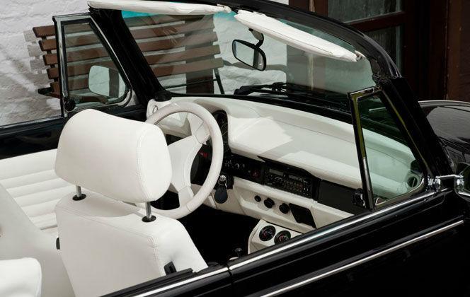 Beispiel: VW Käfer Cabrio, Foto: Oldtimer Paradies.
