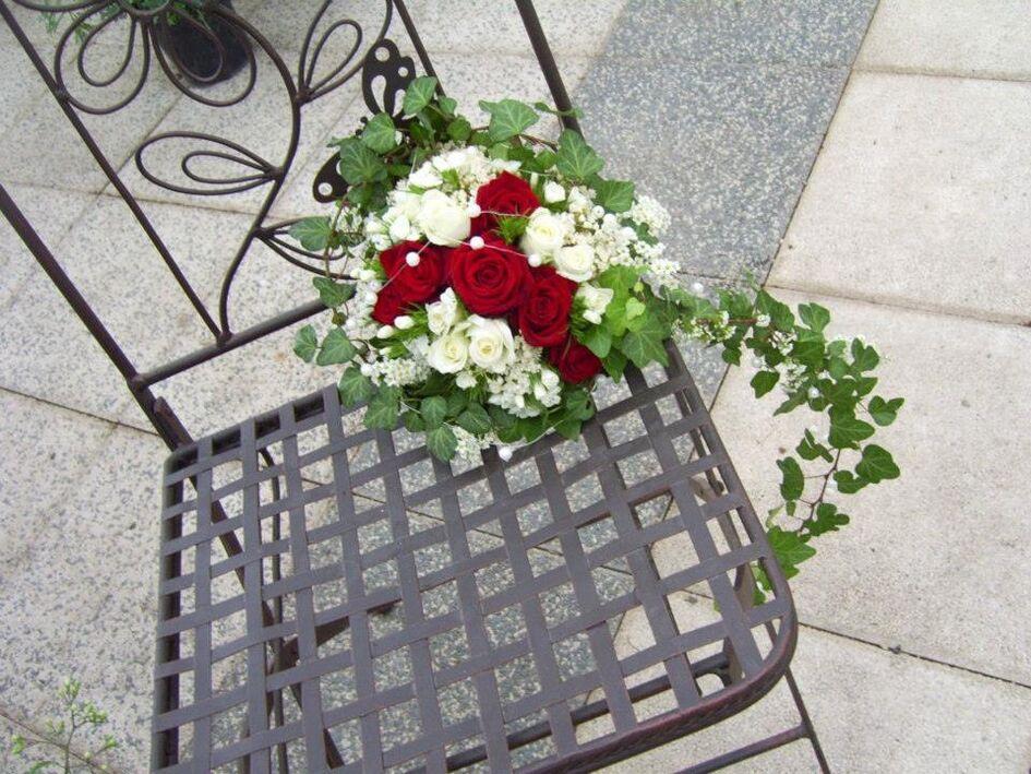 Beispiel: Brautstrauss, Foto: Gartencenter Burgenland.
