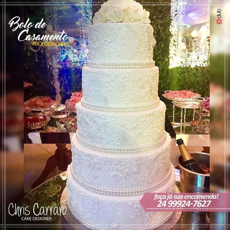 Chris Carraro Cake Designer
