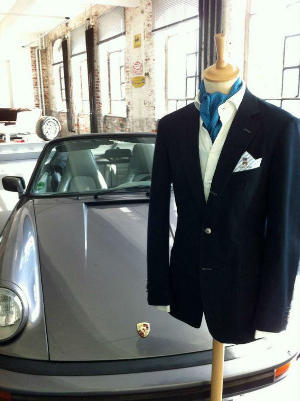 Beispiel: Mode für den Bräutigam, Foto: Herrchen.