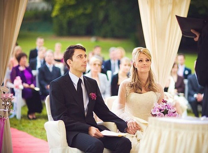 Beispiel: Freie Trauungszeremonie, Foto: Weddingpoint.