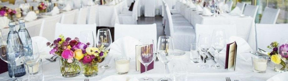 Beispiel: Tischdekoration, Foto: Mainnizza.