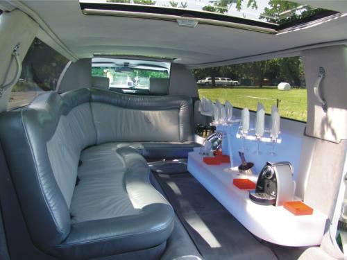 Beispiel: Limousine von Innen, Foto: FUNCAB.