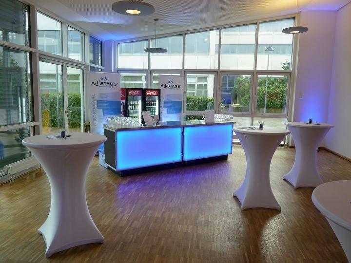 Beispiel: Partymobiliar, Foto: ALLSTARS Eventservice.