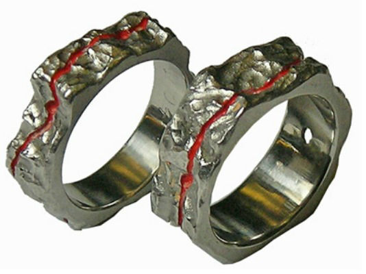 Beispiel: Partnerringe, Foto: Trimetall.
