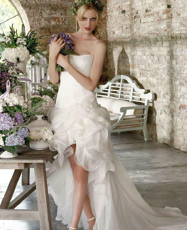 Beispiel: Einzigartige Brautmode, Foto: Traum Braut.