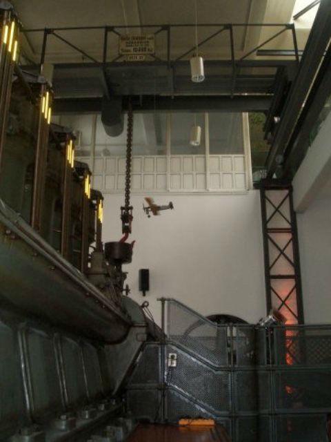 Beispiel: Innenraum - Alte Pumpe, Foto: Alte Pumpe.